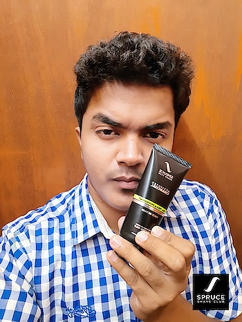 GROOMING IS THE SECRET OF REAL ELEGANCE specially when we are talking about men's grooming... So I  Try this products from @spruceshaveclub Which not only vitalise the skin but also nourishes your hair with their 100% natural products range check out at @amazondotin . #imrohansabne × #spruceshaveclub . . . . . . . . . . . . .  #mensgrooming #mensworld #style #modelsworld #modelslife #instagram #instacool #fashionfreak #stylefreak #styleinfluencer #handlebarmustache #blackislove #fashionblack #fashionanleme  #menshairstyle #mensfashion #indianfashionblogger #fashionblogs  #fashioninfluencer #delhifashionblogger