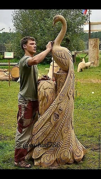 #creativeartist  #woodart  #awesomeme