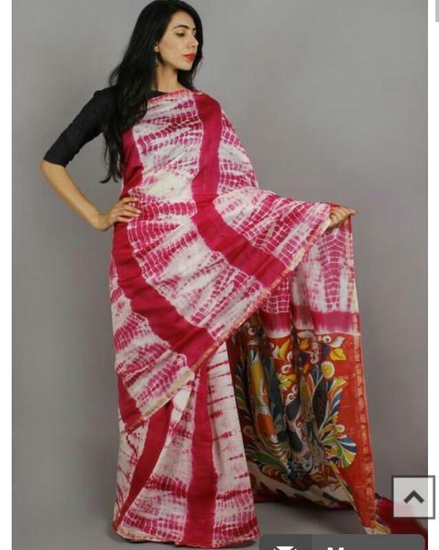 Kerala Cotton hand made saree wd blouse ping ne fr prs 9406963726