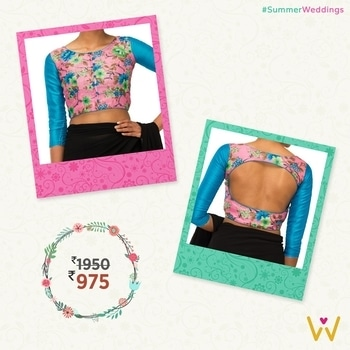 You can never go wrong with floral designs when it comes to blouses!  Be fashion forward with WedLista.com's #SummerWeddings collection!  Product Code: BL20E791575  #WedLista #FashionforWeddings