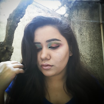 Life is full of colors so is my eye 👀💙💚💛💜 paring it with shimmer lips 😍#thegirlything💖 #colour #indianblogger #indianbeautyblogger #makeupbyme #makeupartist #mua #coloresatitsbest #beauty #boomarang #shinee #lip #passion #sexy #mumbaiblogger #vadodarablogger #wakeupandmakeup #Makeup #mynewmakeupstory #eyegame #linerforlife #folloformore #newupdate #giveawaycomingsoon