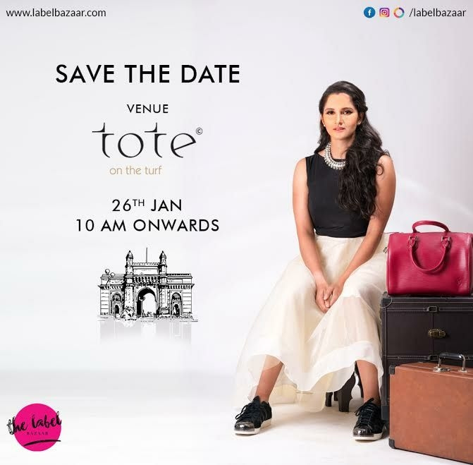 Catch the latest brands from India and beyond only at The Label Bazaar on the 26th January at Tote on the Turf, Mumbai.   @labelbazaar is here to rock.. save the date😄😄