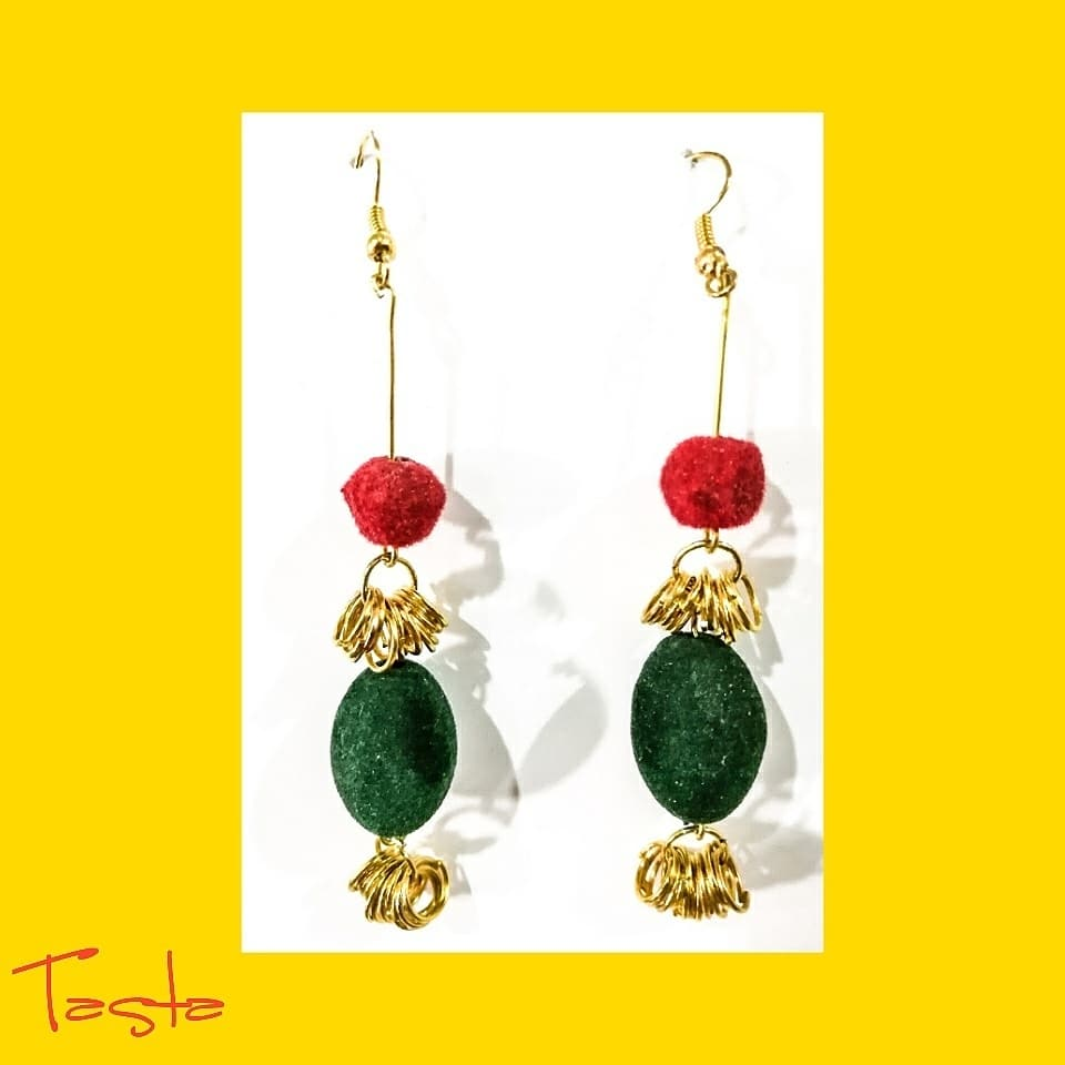 handmade tassels earing
