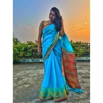 Sunset and Saree! Good timing can give wonderful clicks. I will be posting few more pics of this saree which I borrowed from my mom. . . #roposotalenthunt #fashion  #styles  #stylishwear  #love  #me  #cute  #photooftheday  #nails  #hair  #beauty  #bold-is-beautiful  #instagood  #instafashion  #pretty  #girls  #pink  #girlysh  #girls #eyes  #model  #dress  #skirt  #shoes  #heels  #styles #outfit  #purse  #jewelry  #shopping  #indian