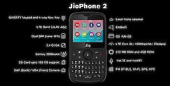 #bazar  jiophone 2 full specifications