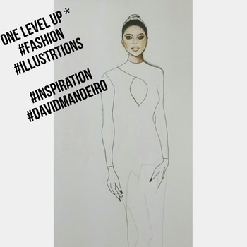 #fashionillustrations ❤ #mywork #inspiration #davidmandeiroillustrations