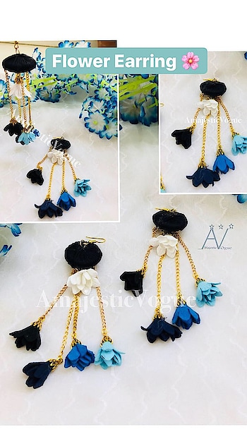 Flower Earring 🌸 #AmajesticVogue . Get it for yourself #limitedstock #ordernow ✔️ #Inbox or Whatsapp 7044966220 us to give order ✔️ . #jewllerygram #designer #jewellerylove #designerbag #hue #weardifferent #bloggerstore #brand #handmadejewelry #handmade #grabit #stylish #different #chic #likes #likesforlikes #trend #jewelleryaddict #bohojewelry #beads #statement #stylish #flower #flowerearring #stylish #statementearrings