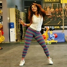 Party your way to fitness with me #zumba #dance #fitness #photoshoot #funclicks #roposo #soroposo #roposogal