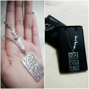 Got the #BeingHuman Signature Tag. The taglines in it are lovely ❤  #roposopost #postoftheday #soroposofashion #roposodiaries #beinghuman #stylequotient #jewellery #signature #tag #jewellerylove