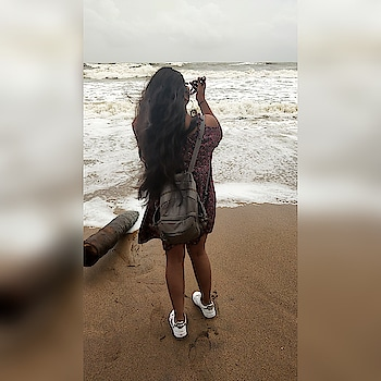 until somebody show me they really want me ,Imma just focus on myself ❤️   #selflove  #ootd  #goabeach  #soroposolook  #slaying  #yolo  #beachlove  #ootdfashion