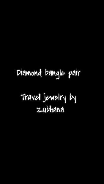 Diamonds are every girl's companion. Be it in form of earrings, rings or bangles.  They look stunning if made perfectly by our Karigars . The Bangle pair has been made with maresque , sqaure and pearl shape diamonds (artificial diamond stones  ) Available in size 2.6  Contact 8860974879 for details.  #zubhana  #timelesstreasures #zubhana_jewellery  #diamondbangles  #bridal-jewellery  #bangles  #kada  #gorgeous  #styling  #fashionstylist  #basics  #weddingessentials  #traveljewelry  #destinationwedding  #indianwedings  #luxuryjewels  #highjewelry  #makeup  #americanwedding  #weddingmakeup  #stylestatement  #statementjewellery  #roposo-journey  #southindianweddings