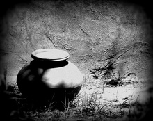 We shape clay into a pot, but it is the emptiness inside that holds whatever we want... - lao tzu   #emptiness#claypot #photography #indiatour#abstractclicks #emptiness