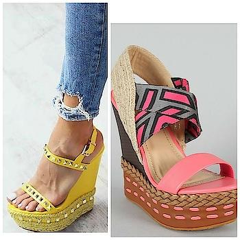 #wedges#fashion#footwear #women-fashion