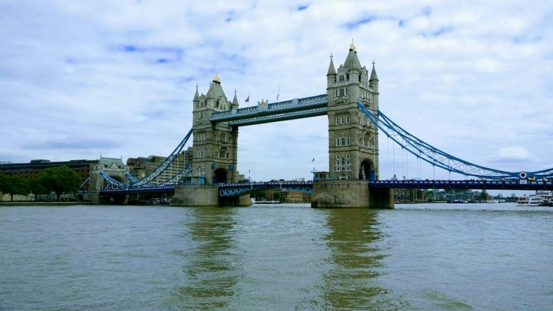 Tower bridge in London is often confused with the London bridge which is right opposite but lacks the swag this one has 😁  #london #londondiairies #architecture #bridges #uk #thames