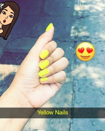 #yellow #yellownails #yellownailpaint #YellowNailpolish #iamhimanshisingh #imhimanshisingh