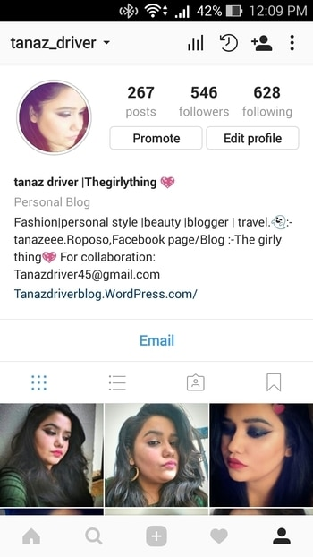 it's a lazy Sunday but all m gonna ask is do follow me on instagram for more pics and more fun #thegirlything💖 #followmeoninstagram #blogger #bloggerbabe #fashionandlifestyleblogger #makeupblogger #makeupartistindia