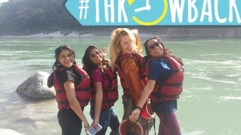 Throwback.. Rishikesh white water rafting..   Travel dairies# Rishikesh # white water rafting# #travel