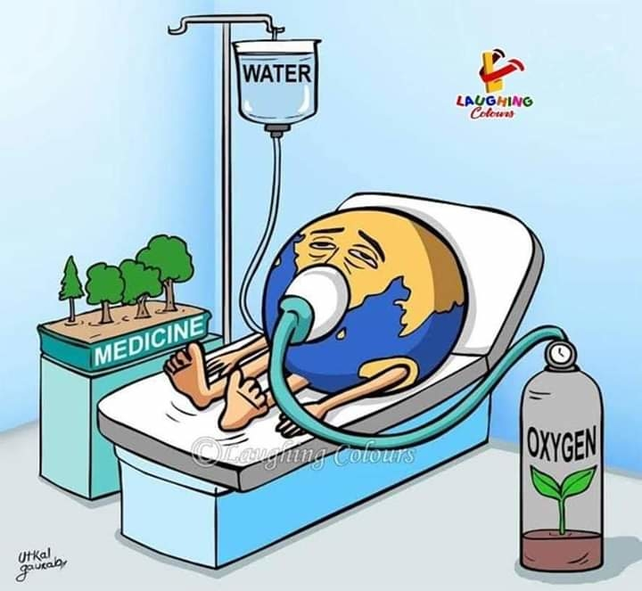 #World_Earth_Day ❤️#Save_Trees #Save_Water 🤗🙏