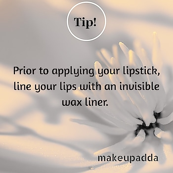 Tip of the Day . . Use an Invisible Lip Liner. . . Prior to applying your Lipstick, line your lips with an Invisible color liner. These invisible lip liners are designed to grab on to color to help it last longer and it prevent feathering. . . Start by lining the outside of your lips with the liner to fill in any fine lines. Then, fill in the rest of your lips with a lip liner in a shade that matches the lipstick color you'll be using. . . . . . . . . . #hackoftheday #beautytipoftheday #beautytipsandtricks #makeuptipoftheday #makeuptip #makeuptipsandtricks #makeuphacks #lipliner #lipstickhack  #contentcreator #contentwriter #makeuptip  #beautyinfluencers #bangalorebeautyinfluencer #Bangalorebeautyblog #bangalorebeautyblogger #indianbeautyinfluencer #indianbeautyblog #indianbeautyblogger