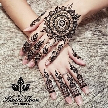 Craft your hands with this modern mehndi  art by hennabyang!  #WedLista #FashionForWeddings #hennadesign #arabicdesign #weddingwear #weddingseason #onlineshop #ropo-love