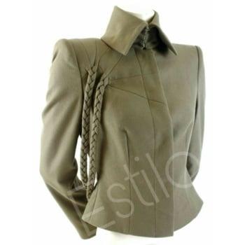 #olivegreen#Spreadcollar#braids#shirtjacketstyle#fashionforlife#estiloforlove