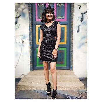 #black #lbd #lbdlook #lbdlove #fashion #fashiondairies #women-fashion #fashionables #be-fashionable #shortdress #bangs #shorthairstyles
