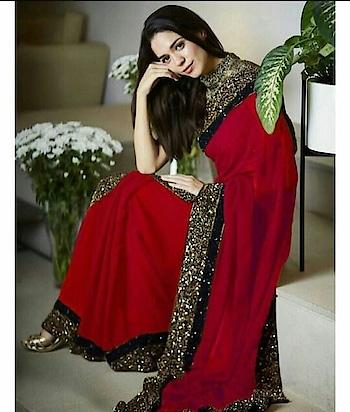 #fashionquotient #fashionquotientchannel #saree #redsaree #thebazaar #redlove
