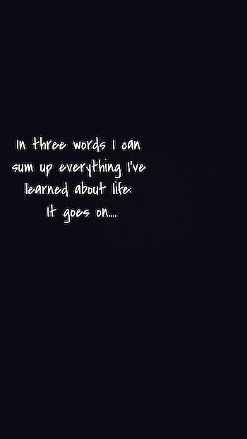 #lifequotes #lifegoeson #truthoflife