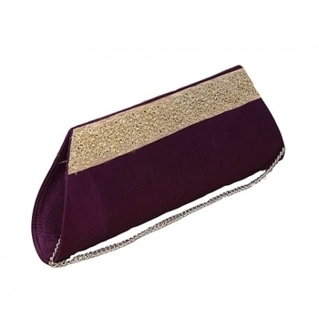 Perfect your wedding look with this smashing purple raw silk clutch from WedLista.com  COD Available|Free Shipping| Easy Returns  Shop now: Product Code: Mys 100000175150  Price:Rs. 625.00  #WedLista #FashionForWeddings