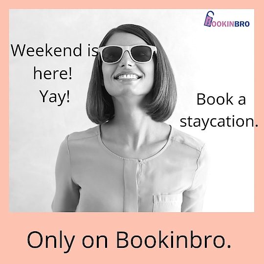 We are here to pamper you.  Book a staycation at premium hotels through bookinbro and get amazing discounts as well. . . Unmarried couples also welcome. . . Our website link in bio. DM us for details or help. . . . . . . . . . . . . . . . . . . . . . . . . . . . . . . #weekendvibes #weekendishere #weekendtime #getawayweekend #staycations #staycationtime #staycation2018 #staycationing #weekendlove #bookinbro #stayinhotels #couplefriendly #onlinebooking #onlinehotels #onlinedeals #onlineshop