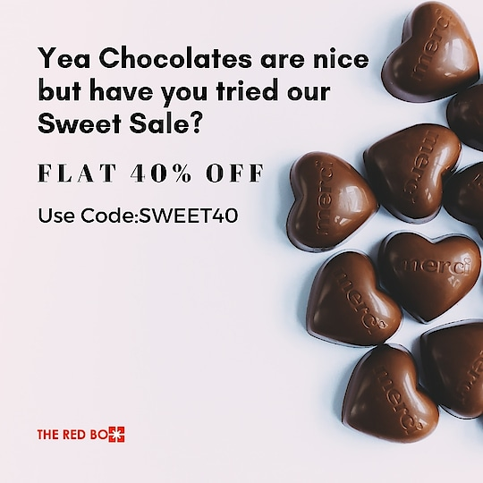 What's better than #chocolate? Our Sweet Sale! 🍬  http://www.theredbox.co.in/ . . . . #theredbox #crazysexycool #theredboxlove #spiceitup #sale #sweetsale #discount #stealdeal #flashsale #yolo #jewelry #jewellery #jewellerylover #jewelleryaddict #april #loveyourself #treatyoself #delhi #mumbai #india #celebritystyle #celebritystyle #instadaily #shopping #sweettooth #candy #candylicious #sweets #postoftheday #instalove