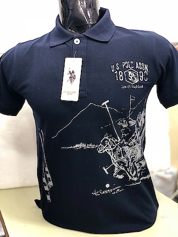 Us polo printed T-shirts  Pure Cotton  11 colours  M l xl xxl  For price or to order please Inbox Call or whatsapp  WhatsApp.7307350695  Call.9876019929 Visit us at  http://jjcollections.weebly.com  Code. 99559318549pt #uspoloassn #uspoloformen #us_polo #mensfashion #men-fashion #men-branded-shopping #menstshirts