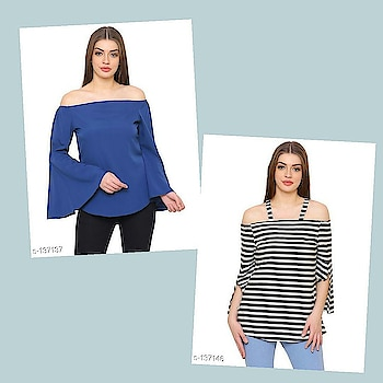 Check bio and dm me for shopping  _Look stylish in this trendy tops that feature varied designed and style. Look flamboyantly voguish in this assorted tops._  Catalog Name: *Voguish Polyester Tops*  Fabric: Polyester Crepe  Sleeves: Sleeves Are Included  Bust/Chest Size: S - 36 in, M - 38 in, L - 40 in, XL - 42 in, XXL - 44 in  Length: Up To 44 in  Type: Stitched  Description: It Has 1 Piece Of Western Wear  Pattern: Solid  Dispatch: 2 - 3 Days  Designs: 10  Easy Returns Available In Case Of Any Issue #fashion  #clothes  #menswear  #womenswear  #shirts  #tshirts #jacket  #shoes  #sneakers #watches  #earphones  #powerbank  #shorts  #dresses  #pants #heels  #highheels #beautiful  #saree #indianculture  #indian #onlineshopping  #bestdeals  #bestproducts #jewellery  #earrings #maharashtra #delhi #gujarat