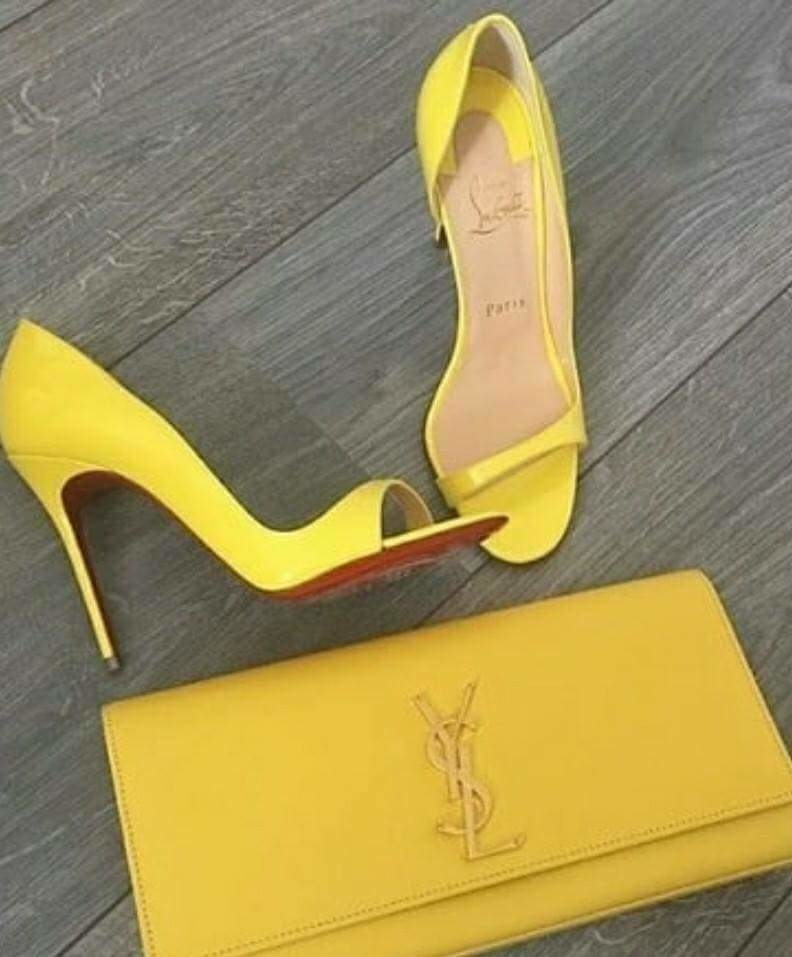 #now #yellow shoes#vow#sassychic