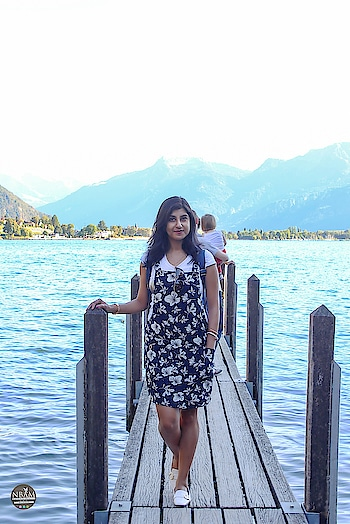 ❤ The Tan Lines Will Fade But The MEMORIES Will Last FOREVER ❤😍 A #throwbackpic  from my  #switzerland 🇨🇭 trip ☺☺ Happy sunday fellas 😍💕 #anamikachattopadhyaya #naturalbeautyandmakeup  #nbamtravels . . 📸 Lake Geneva, Montreux, Switzerland  #travelfashionista #travelphotography  #travelblogger  . . 👗Outfit Details↘️ . Dress👚 : Wearing this floral printed dungaree dress from @mango Hong Kong  T shirt 👕: @shoppers_stop India Shoes: @zara Hong Kong  Watch: @guess India Sunglasses 🕶: @ralphlauren India . . . . . . .  #tannedskin  #travelfashion  #travelootd  #ootdstyle  #dungareedress  #travelinstyle  #casualoutfit  #lifestyleblogger  #fashionbloggerstyle  #styleblogger  #streetstylefashion  #influencerstyle  #travelfashiongirl #wanderer  #simplelook  #followmeforfollowback  #happytravelling  #florallove  #floraldress  #lakegeneva #montreux