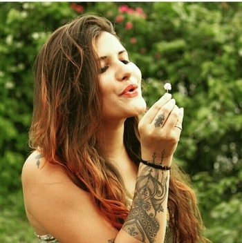 tattoo#tattooist#firstfemaletattooist from Bhopal#girlwithtattoo#loads of love...😘