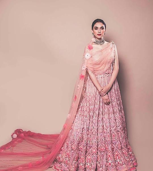 @taruntahiliani #bridal-fashion-designer #bridal-wear #tinted #pink #roposo-style #blogger #stylistdiaries #designer