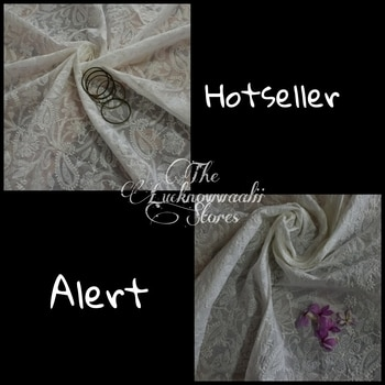 HOTSELLER ALERT When it's difficult to choose between two gorgeous Dupattas. Shop these two remaining pieces before they are sold out. It's now or never. DM or watsapp on +918826561494 for orders and details #newarrivals #celebratingchikankari #newcollection #collegefashion #sustainablefashion #officewear #formalwear #dailywear #beattheheat #summerready #summerclothes #chikan #chikankari #makeinindia #embroidery #handicraft #handembroidery #lucknowi