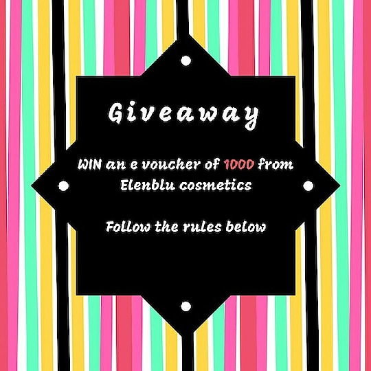 🎁W.I.N 💸 B.I.G🎁 @elenblucosmetics e-voucher worth INR 1000 👀 You can surprise your mom👪 with an early Mother's Day present.  ✅R.U.L.E.S✅ 1) Follow me and @elenblucosmetics 2) Follow me on my social media (Twitter - @fiana_speaks Youtube- Fiana Fashion Forward  Facebook - Fiana Fashion Forward ) 3) Tag 3 of your BFFs 4) Repost / Share on insta stories and tag me  Good Luck guys and girls 💗Winners to be announced on 11th May . . . . . . . #elenblugirl #ElenbluXFFF #giveawayalert #ContestAlert #Contest #MothersDayGiveaway #mothersday2018 #IndianGiveaway #sweepstakes #wincosmetics #international #worldwide #GiveawayIndia #contestmumbai #mothersdaycontest #Sharetowin #tagtowin #likeforlike #follwforfollow #subscribe #makeupaddiction #makeuplover  #makeupindia #nailpaints #eyemakeup #mascara #eyeliner #kajal #beautysponge  Visit elenblucosmetics.com to see their amazing products. 💗💗💗💗💗💗💗💗💗💗💗 Watch my new video where I make a healthy snack with popcorn.   Follow me on my social media to know more- Facebook- https://www.facebook.com/FianaFashion... Google Plus - https://plus.google.com/u/0/ Twitter- https://twitter.com/fiana_speaks Roposo - @fianafashionforward    @roposotalks #soroposo #roposolove #roposoaddict @roposocontests #wedmealready #calcutta #ludhiana #indianfashionblogger #glam #gorgeous #follow4follow #traditional #sweet #makeup #designerstuff #tshirt #beauty #goals #jeans #like4like #celebrity #fashion #hot #lehenga #clothes #fashionblogger #cute #picoftheday #followme #dress #fashionista #fashionstyle #beautyblogger #indindresses #goodmateriel #nailartdesigns #nicecollection #awesomelook #fashionmoments #lehangas #lahengas #streetstyle #girls #beauty #delhi #picoftheday #styleblogger #fashionblogger #blogger #makeup #indian #ootd #love #online #followme #mumbai #beautyblogger #shopping #fashion #ropo-love #lakmefashionweek #indianblogger #fashionista #likeforlike #myfirstpost #beauty #likesforlikes #follow4follow #stylesnapper #fashionlover #streetstyle #fashi