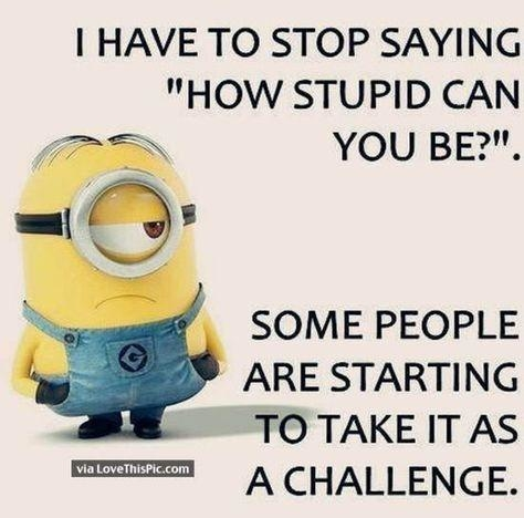 Don't take it as a challenge. .. #newcontest #challenge #minnions
