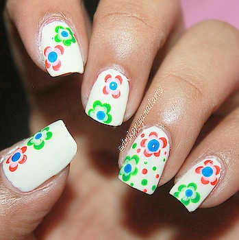 Here is the easiest nailart for a beginner you can achieve if you want to do something with your nails for Republic Day celebration (Indian-26th January) . So , I just made tricolor flowers using dotting tools on my nails. If you dont have any dotting , you can also use hair pin , tooth pick or pencil etc for the same.  Happy Republic Day (26th January)  my lovelies.  Would love to see your recreations of this.. , don't forget to tag me.. Lots of love to all of you !  XoXo! 😘  #indian #indiannails #indiannailart #nailartforrepublicday #nailartforindia #indianrepublic #indianrepublicday #tricolornails #tricolornailart #nailart #nailartist #india #indiannailartist #loveforindia #lovefornailarts #instanailstyle #instanailart #flowernailart #flagnails #indianflag #indianflagnails