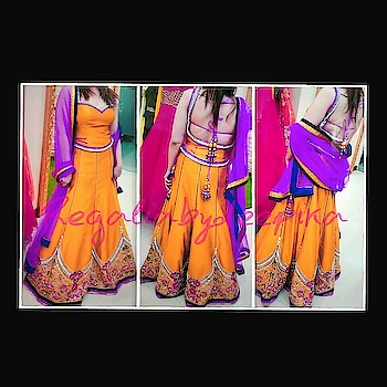 #regaliabydeepika #readytowear #brightcolors #sangeet #mehendiceremony #weddingfunction #bridessister #bridemaid #popcolors #lehengas #indianfashion #couturecollection #hautecouture #rtw #netaporter #pretwear #stylegoal #instalookbook #iglooks #outfitgram #innovattive #fashionova #dailyupdates #clothing #garments #apparel #attire #fashionideal xx