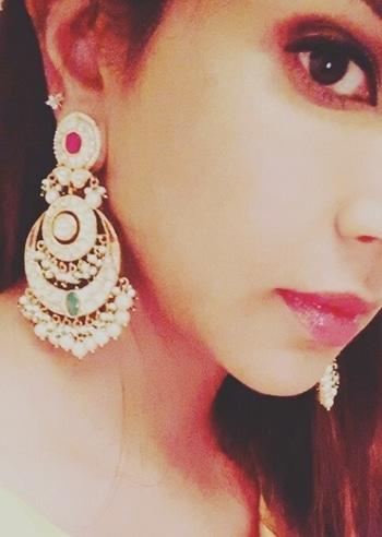 Ramadan mode#chandbali #festivemode  #accessories