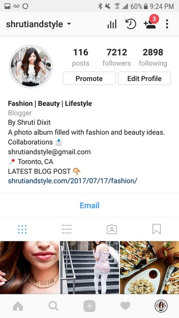 Go follow me on instagram so you don't miss any of my new photos.  . . .  . . . #ootd #yyzfashion #lookoftheday #picoftheday #stylegram #style #igfashion #fashioninspo #ootd #outfitideas #lookbook #minimalstreetstyle #follow #summertrend #instastyle #fashionblogger #outfitoftheday #ootdwatch #torontoblogger #mumbaifashion #mumbaiblogger #mumbaifashionblogger #indianfashionblogger #indianblogger #styleblogger #delhiblogger #lifestyleblogger #india #toronto #canada  . . .  #picoftheday #brunching #potd #blogto #torontoeats #brunch #babes #food #blog #foodie #foodstagram #eating #foodgram #instafood #junkfood #instafashion #bestofstreetwear #styleinspiration #styleinspo #fashion #streetfashion #torontostyle #photography #styleblogger #torontoblogger #shrutiandstyle  . . . #makeup #mua #makeupblogger #sephora #smashboxcanada #physiciansformula #esteelauder #essence #katvond #fashion #streetfashion #photographer #torontostyle #photography #desigirl #bloggerstyle #shopping #styleblogger #torontoblogger #indianblogger #mumbaiblogger #delhi #pune #mumbai #toronto #torontomakeup #blogger #shrutiandstyle
