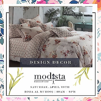 If Sleep Be the Power of Your Dreams!! Dream On!! Design Decor showcasing their collection only at Modista on Sat 28th April, Roda Al Murooj from 10am - 8pm.  #bedcovers #homeaccessories #bed #sleep #uae #dubai #musthave #linen #mydubai #modista #dxb #uaerunsonsleep #cozy #instahome #classy #bold  #bedlinen #dubaievents #rodaalmurooj #colorful #givecolor #royal #instagood #insta #modistadxb #savethedate #bethere