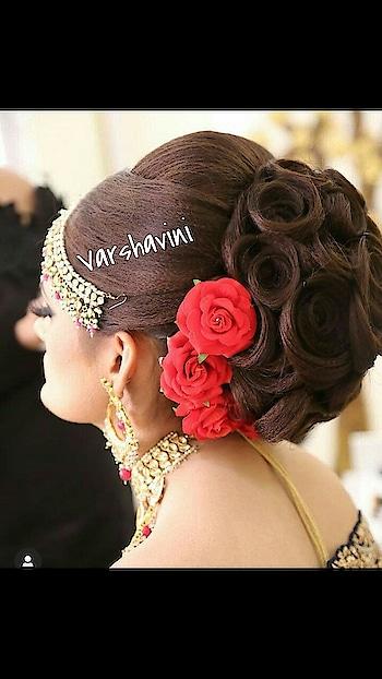 bridal hair do.
