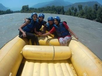 Rafting yeah... #MyFirstPost #SoRoposo #MenOnRoposo