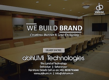 """""""We strive for two things in design: simplicity and clarity. Great design is born of those two things.""""  abhUMi Technologies is here to provide you best graphic design services.  Visit us for more details Email: info@abhumi.in Call now: +91-8698755048  #graphic #graphicdesign #technologies #technology #services #abhUMi #technologies #web #creatives #banner #logo #graphicdesignsolutions #bestservice #IT #itsolutions #instafollow #outdoor #Let'sWork #land_of_technology #offer #attractive #development #customers #follow #like #abhumitechnologies"""