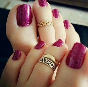 #nailpaint #nail art #classylook #beroyal #😎✌royal😎✌ #freesoul #hakunamatata #purple #feelingawesome