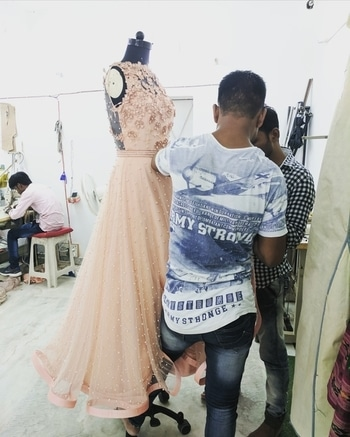 Straight from the #NBHeadquarters as we totally respect our #handembroidery team for their #finesse and #craft  Importance to #detailing and #finishing is what we believe in and that is what makes a #NITYABAJAJ purchase timeless...  #behindthescenes to a #bridal #engagementoutfit undergoing final #finishing and #details  Come and experience the delightful world of #nityabajaj as we promise to make yours memorable...  #finishingtouchesatnbheadquarters